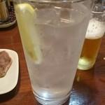 焼鳥さつま - レモンサワー
