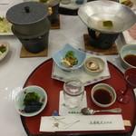 五浦観光ホテル 別館 大観荘 - 料理写真:夕食