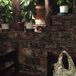 さぼうる - 壁の落書き