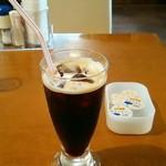 ブッチャーランド - ランチに付いてくるアイスコーヒー