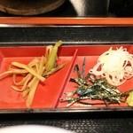 中島屋 - そばとミニかつ丼セット