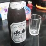 海平ラーメン - スーパードライ