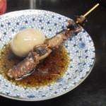 海平ラーメン - おでん 卵、蛸