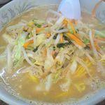らーめん亭 - 野菜たっぷり味噌タンメン