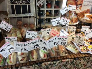ペッパーズパントリー - サンドイッチもかなり魅力的でした。