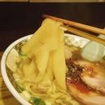 すごい煮干ラーメン凪 新宿ゴールデン街店本館 - いったん麺アップ(2015.6)
