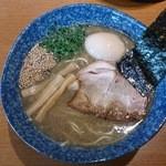 ながさわ - 煮干豚骨味玉