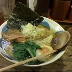 ラーメン みしま - 塩ラーメン700円