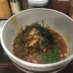 麺屋 節と煮干の濃厚ばかっぷる - 厚殻(つけ麺)のつけ汁