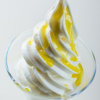 当店ならではのソフトクリーム