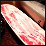 さくら - 紅豚のしゃぶしゃぶ  1人前 880円