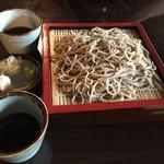 丸西屋 - 玄挽き蕎麦900円