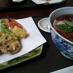 手打ち蕎麦 相生坊 - 天ぷらそば 2200円