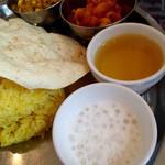 ヒマラヤ - タピオカ、ヘマ茶、アルダム、タルカリ