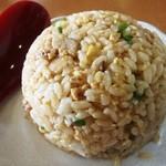 尾道らーめんベッチャー - セットの小炒飯300円 作り置きを想わせパサパサ