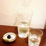 おそばの甲賀 - 日本酒 ふた穂