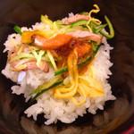 麺所 水野 - ローストビーフご飯