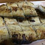 うなぎ処 もりやま - 素晴らしい肉厚鰻 塩焼き