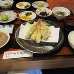 いちごや - 天ぷら定食ランチ      1380円