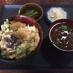 39642935 - 2015.07魚と野菜天丼
