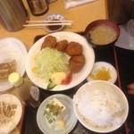 らーめんランド 味の館   - ヒレカツ定食