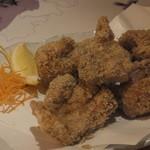 全席個室 居酒屋 九州和食 八州 - 長崎ばってん鶏のごま唐揚げ