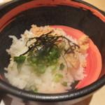 全席個室 居酒屋 九州和食 八州 - 鮭茶漬け