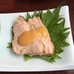 打心蕎庵 - 赤鶏の酢味噌