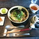 寿月堂 - 鯛茶漬け全景