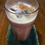 自家焙煎珈琲 はち - ドリンク写真:冷たいココア