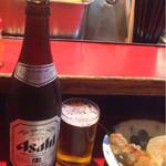 39648243 - ビール中瓶〜( ̄Д. ̄)ノ¥580円