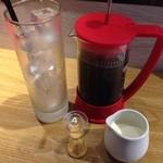 39649370 - フレンチプレスでアイスコーヒー!美味しかった!