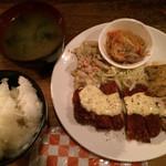 松南食堂 - チキン南蛮  タルタルソース       650円[税込]
