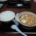 3965872 - 見た目通りの美味しさだったホルモン鍋定食