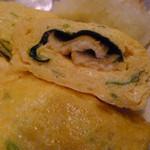 和食 お酒 彩は - 煮穴子と三つ葉のだし巻き玉子(膳)