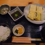 和食 お酒 彩は - 煮穴子と三つ葉のだし巻き玉子膳