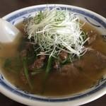 香港ハウス - 料理写真:牛肉湯麺 950円