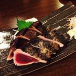 WARAIYA - かつを藁焼き1200円