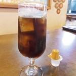 ミルミレ - アイスコーヒーにしてもらいました