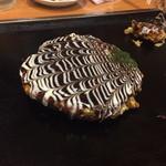 エビス茶屋 - モダン焼き 豚キムチ