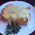 Chiffon Cafe Soie - 2009/2 分厚いパンにたっぷりの具とチーズで凄いお腹一杯になったそうです