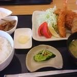 ほまれ菜食堂 - 贅沢フライ定食