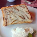 Chiffon Cafe Soie - 2010/9 マーブルシフォン。この美しい断面、流石プロの業