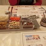 レストラン雪河亭 本店 - 自家製ガラムマサラも用意されています