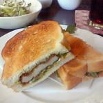 Chiffon Cafe Soie - 2010/9 カツサンドセット