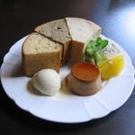 Chiffon Cafe Soie - 2007/8 今から8年前のそわシフォンセット。今でもお値段据え置き、たったの1,000円