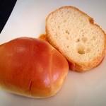 ル・バタクラン - ランチセットのパン