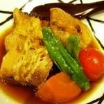 GREEN TEA RESTAURANT 1899 - 加都茶豚の角煮