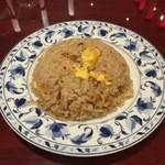 風龍 - 選べる麺と油淋鶏セットのハーフ炒飯