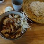 手打蕎麦のたぐと - かしわセイロ910円